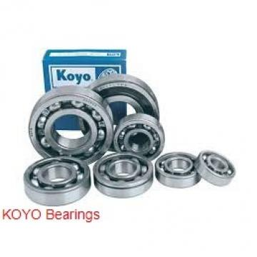 KOYO 6207R deep groove ball bearings